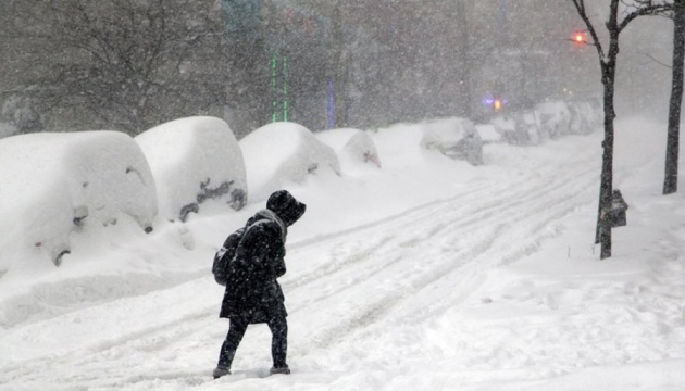 Kyiv sous l'emprise de neige (photos)