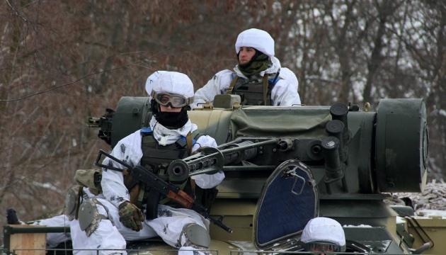 ATO: Militantes usan artillería y morteros pesados cerca de Vodyane