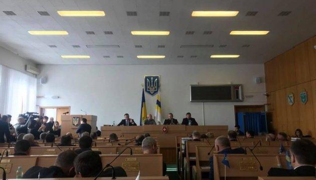 Депутаты Ривненского облсовета переизбрали председателя