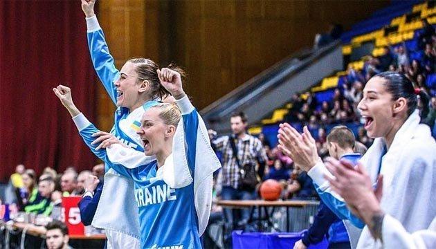 Жіноча збірна України очолила рейтинг других місць у відборі Євробаскета-2019