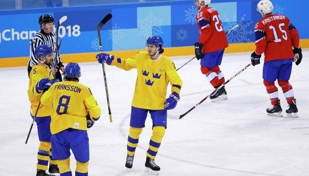 Швеция и Канада с побед начали хоккейный турнир