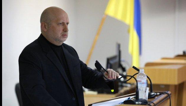 Defense council secretary Turchynov: Nuclear disarmament of Ukraine was historical mistake