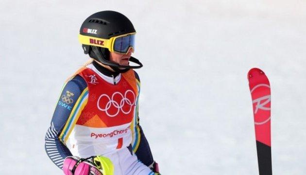 Шведка Фрида Хансдоттер победила в горнолыжном слаломе