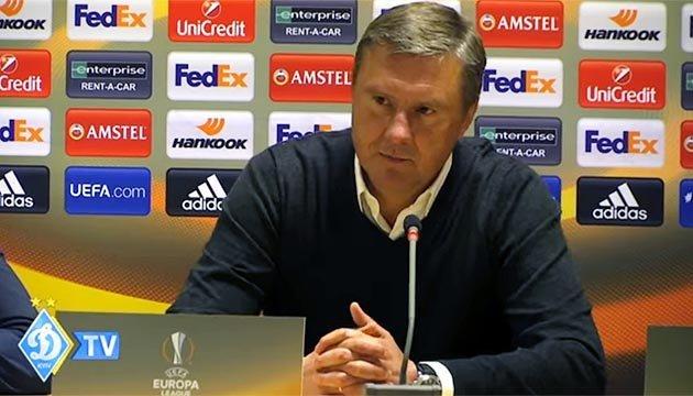Хацкевич: Удалось забить на чужом поле, но не довели игру до победы