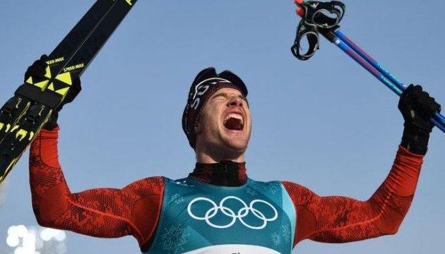 Швейцарский лыжник Колонья выиграл гонку на 15 км с раздельным стартом