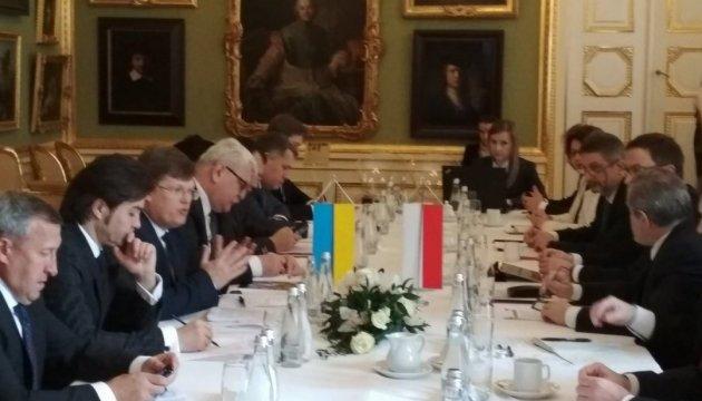 Вице-премьеры Украины и Польши обсуждают
