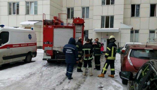 В киевском медучреждении произошел пожар