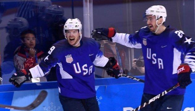Американцы обыграли Словакию на хоккейном турнире