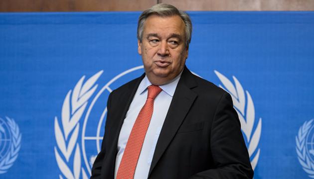 Генсек ООН вимагає припинити