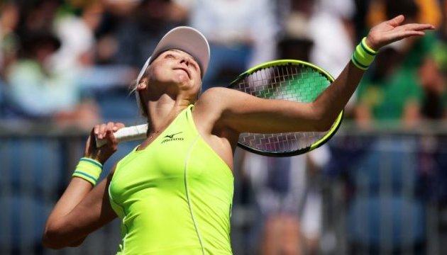Теннис: Людмила Киченок пробилась в полуфинал соревнований пар турнира в Дохе