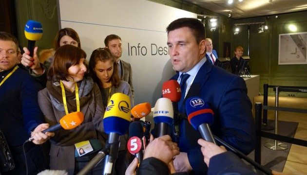 Foreign Minister Klimkin: Date of 'Normandy format' meeting depends on formation of German government