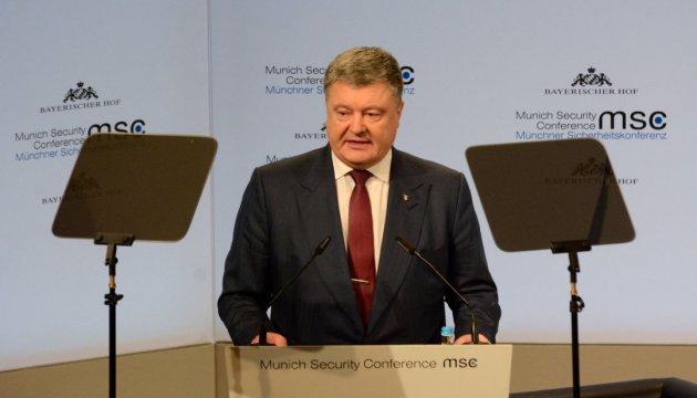 Москва хоче обмежити миротворців ООН функцією ескорту – Порошенко