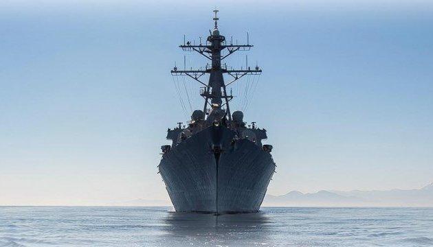 В Черное море вошел  ракетный эсминец США