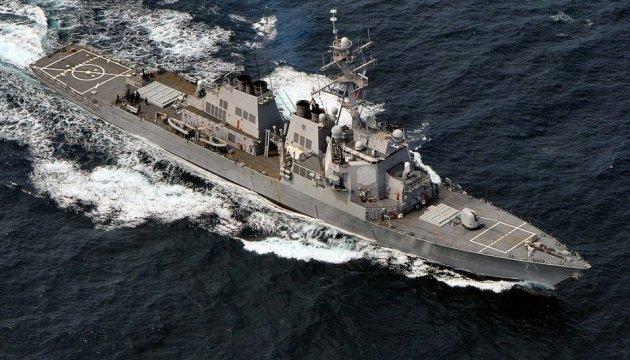 Американський есмінець USS Ross вийшов з акваторії Чорного моря