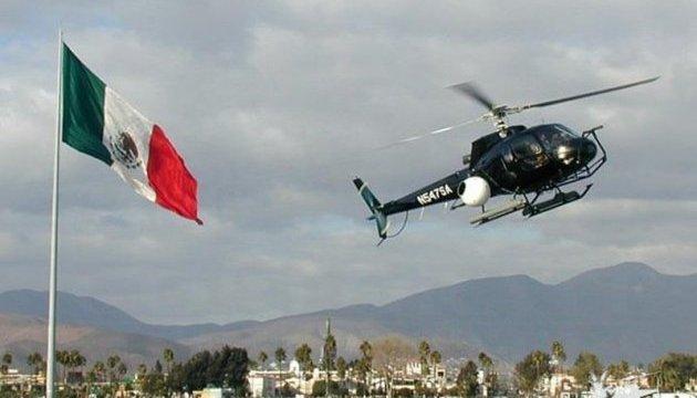 В Мексике разбился вертолет с министром и губернатором на борту