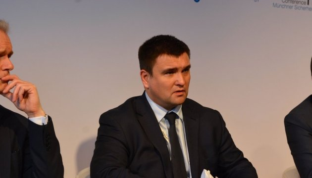 Klimkin discusses intensification of trade and economic relations with Egypt