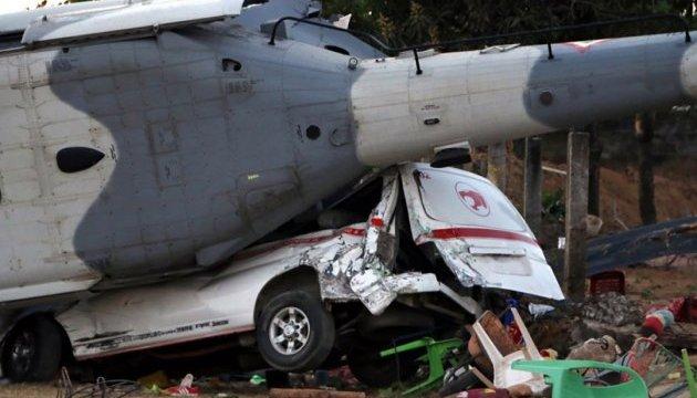 Аварія вертольота у Мексиці: кількість жертв зросла до 13