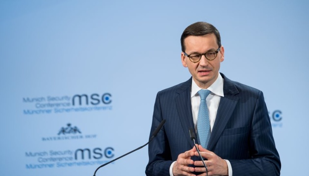 Polish PM says 'history' law not directed against Ukraine