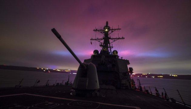 В Черное море вошел еще один ракетный эсминец США