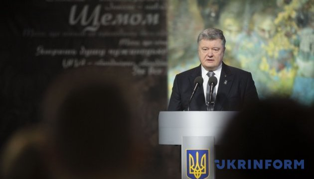 President Poroshenko: Crimes against the Maidan do not have statute of limitations