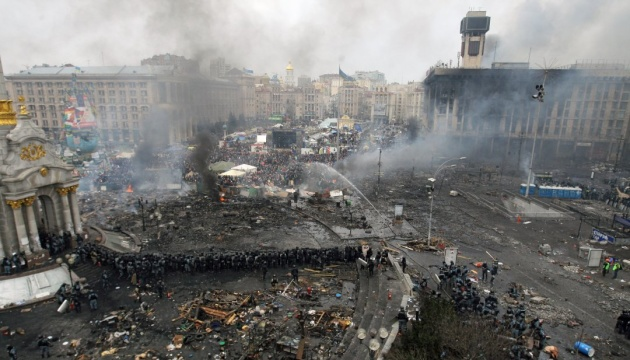 Революція Гідності: на Майдан прийшли провокатори з кийками та георгіївськими стрічками