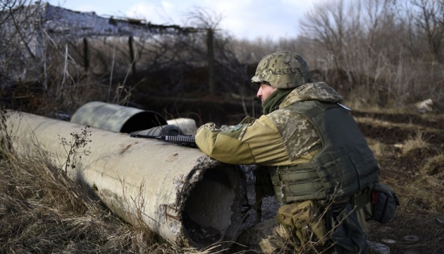 One Ukrainian soldier wounded in ATO area over past day - defense ministry's spokesman