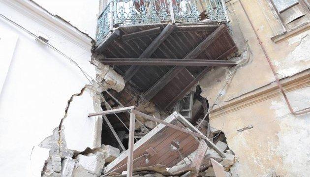 В Одесі обвалився будинок - із завалу витягли пенсіонерку