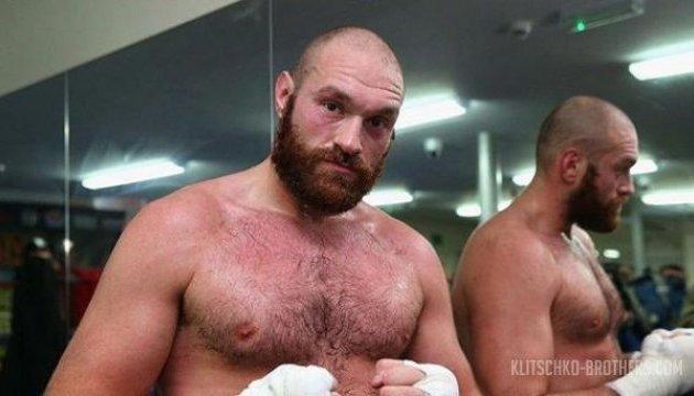 Бокс: екс-чемпіон світу Тайсон Ф'юрі скинув 52 кг