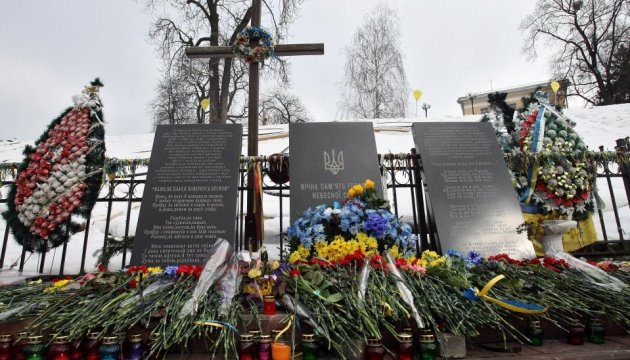 Ukrainian diaspora pays tribute to memory of Heavenly Hundred Heroes