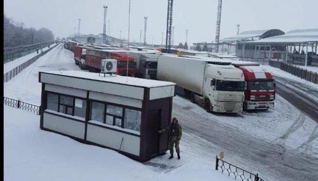 """Grenzübergang """"Hoptiwka"""": Lkws dürfen russische Grenze passieren"""