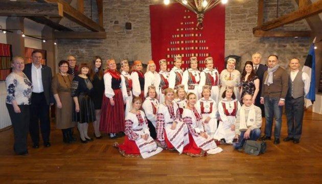 Українська діаспора в Естонії провела концерт до 100-річчя незалежності