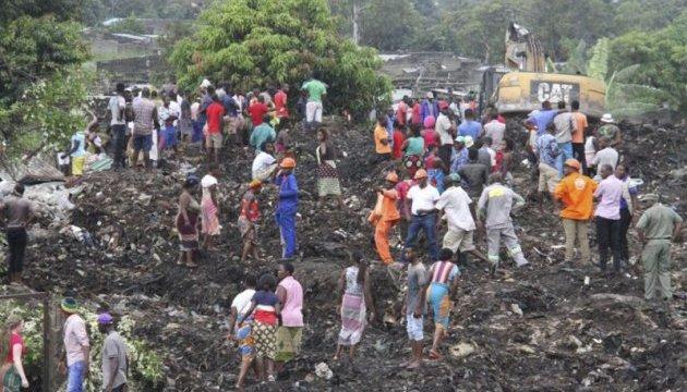 У Мозамбіку обвалилася гора сміття, 17 загиблих