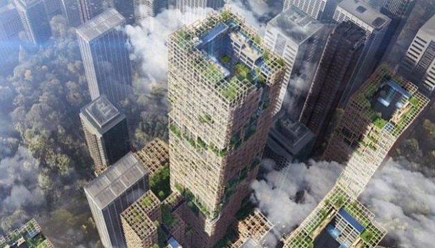 У Токіо побудують найвищий у світі дерев'яний хмарочос