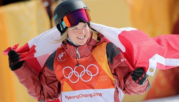 Канадская фристайлистка Шарп выиграла в Пхёнчхане лыжный хаф-пайп