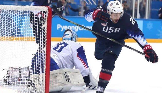 Хокеїсти збірної США пройшли у чвертьфінал у Пхьончхані