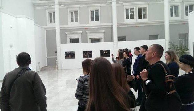 В Киеве ко Дню Героев Небесной Сотни открылась фотовыставка Гайдая