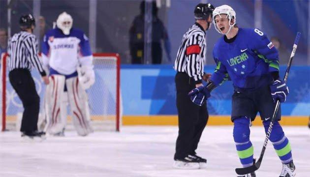 Хоккеист сборной Словении Еглич покинет Игры из-за положительной допинг-пробы