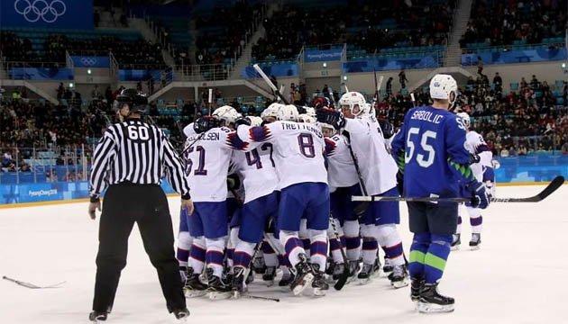 Сборная Норвегии по хоккею впервые в истории дошла до четвертьфинала Игр