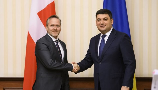 Ukrainian prime minister thanks Danish foreign minister for support in implementing reforms