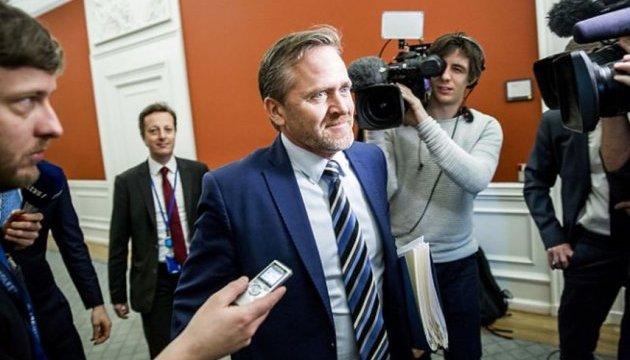 Le ministre des Affaires étrangères danois a précisé ses conditions pour le soutien de son pays à l'Ukraine