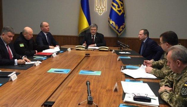 Закон про реінтеграцію Донбасу фіксує наше право на самооборону - Порошенко