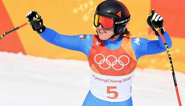 Итальянская горнолыжница Годжа выиграла