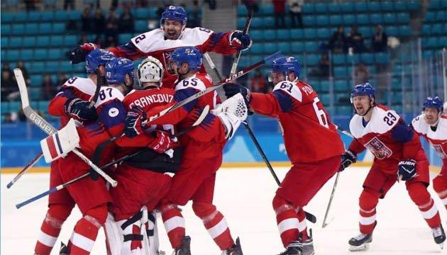 Хокеїсти Чехії залишили збірну США без півфіналу в Пхьончхані