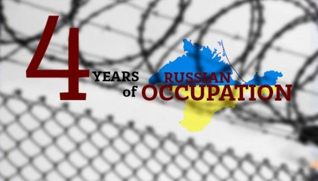 Four years of occupation of Crimea: 456 detentions and 377 interrogations