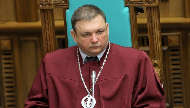 Chairman of Constitutional Court of Ukraine elected