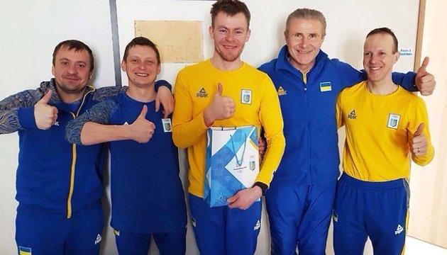 Бубка встретился в Пхёнчхане с техническим персоналом сборной Украины по биатлону