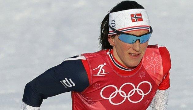 Норвежская лыжница Бьорген завоевала последнее