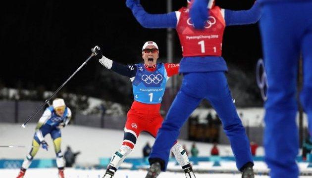 Норвежцы и американки завоевали командное