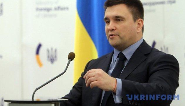 Klimkin habla sobre la preparación de la expulsión de diplomáticos rusos