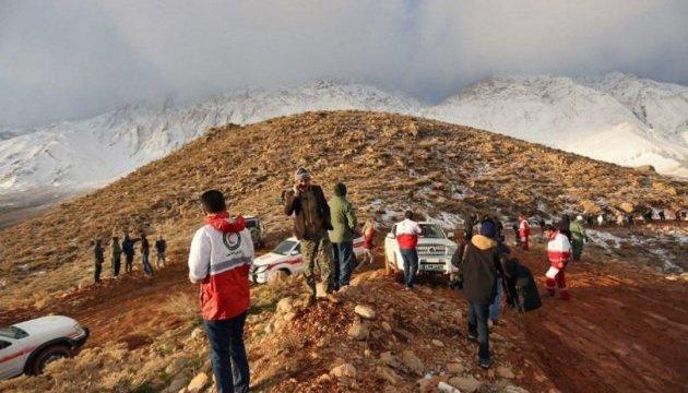 Авіакатастрофа в Ірані: знайшли перші тіла загиблих